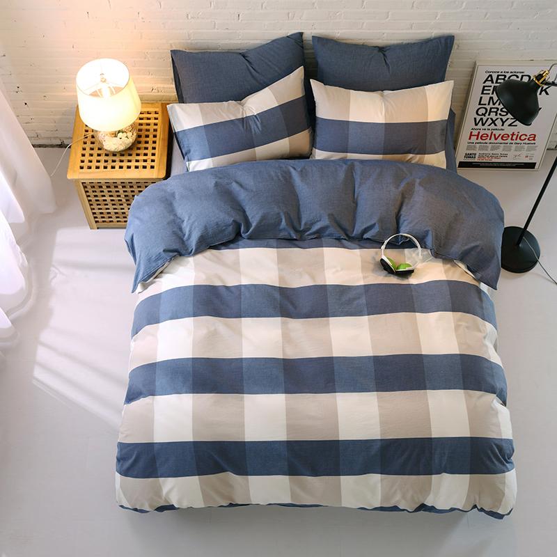 私享家 花晨月夕 水洗棉被面枕套床单套装
