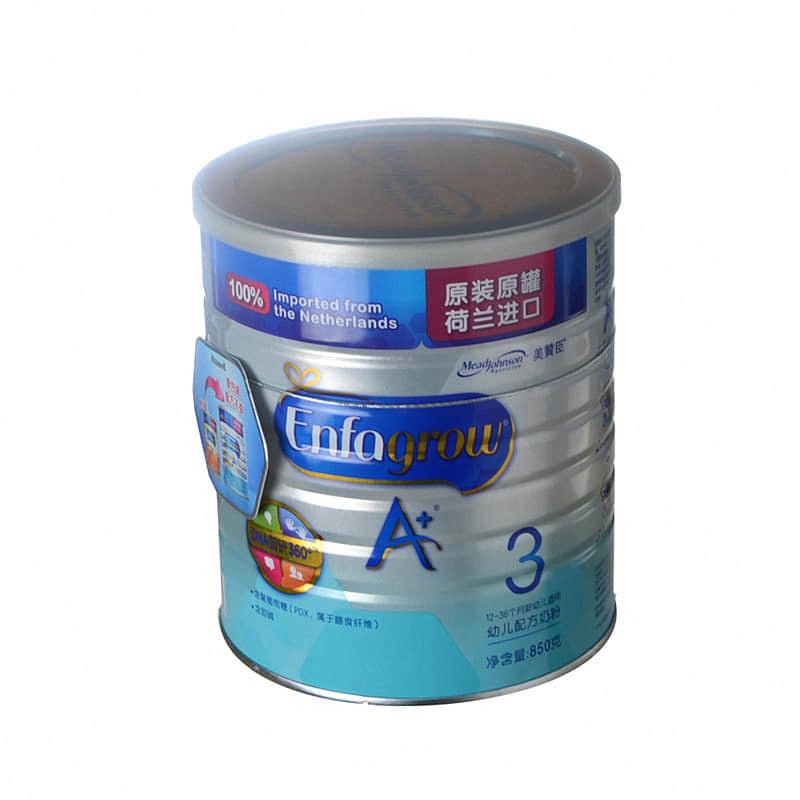 茗品汇美赞臣安儿宝幼儿配方奶粉(三段)850g