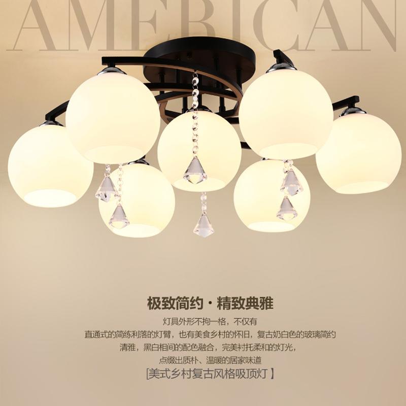 鑫奇照明 小美式吊灯B0028