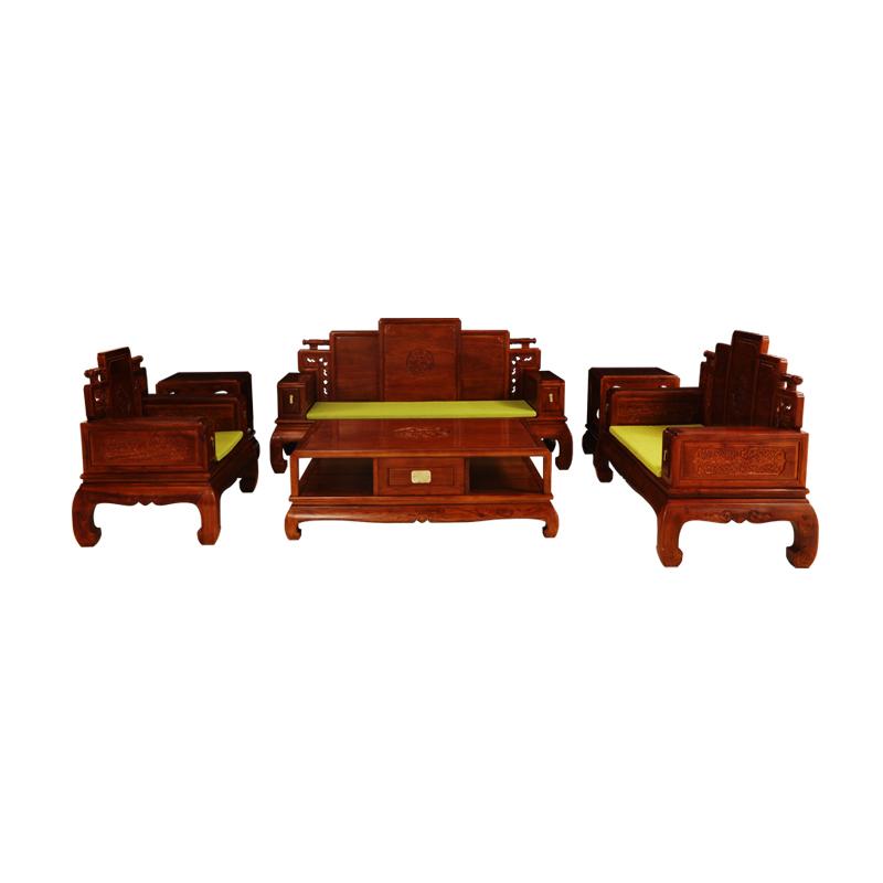 亿凯 天龙八部系列 紫檀实木沙发