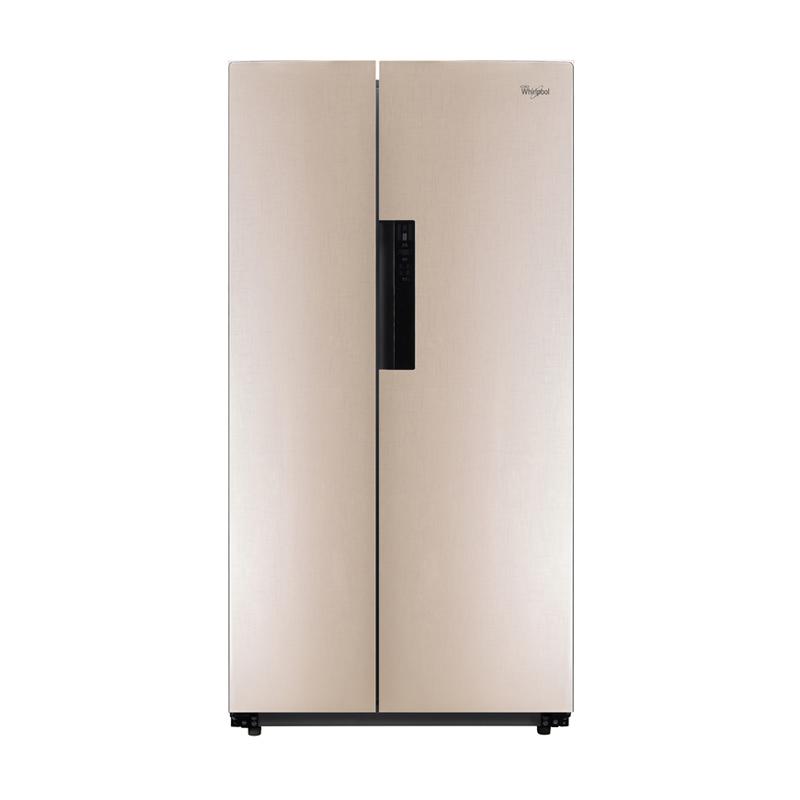 惠而浦 对开门冰箱 BCD-593WDGAW波尔卡金
