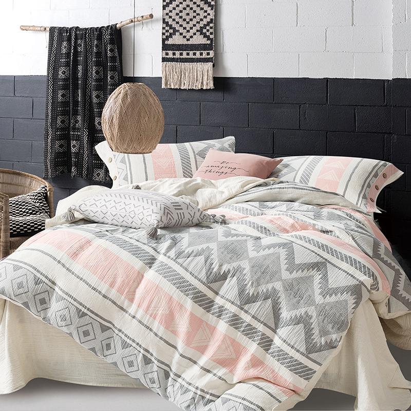 AT HOME 波西米亚系列 被面枕套床单套装