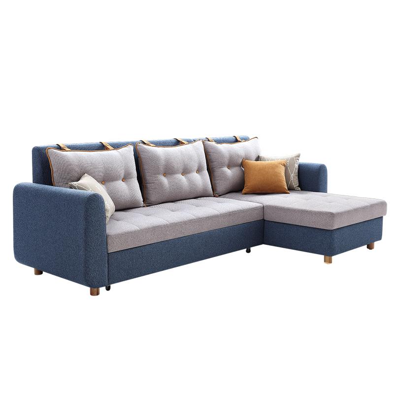 欧迪朗 时尚现代 极简舒适 欧式沙发250#F