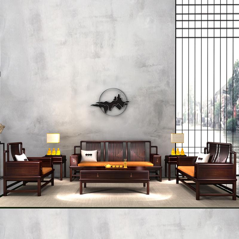日出江山 江山系列 2号沙发六件套组合